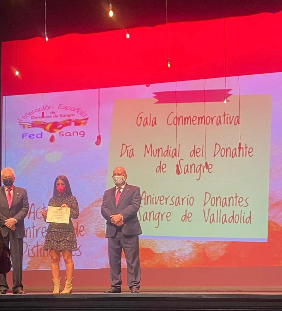 El Colegio Virgen de la Peña recibe la distinción de Mérito Nacional de la Federación Española de Donantes de Sangre